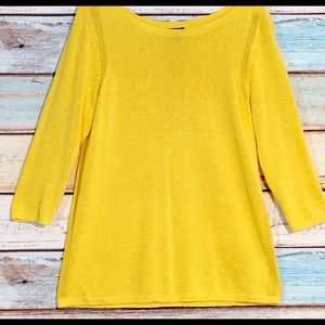 TALBOTS TUNIC LENGTH TOP